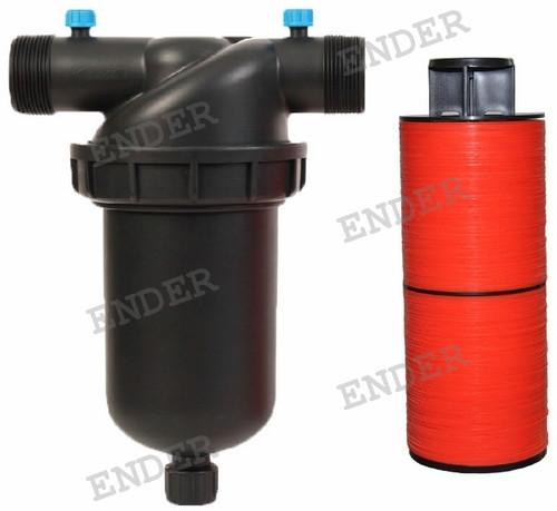 """Фильтр Ender дисковый 2"""" (пропускная способность 14 м3/ч) для капельного полива"""