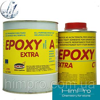 EPOXY EXTRA CTR 1,2kg General  Эпоксидный жидкий морозостойкий клей прозрачный