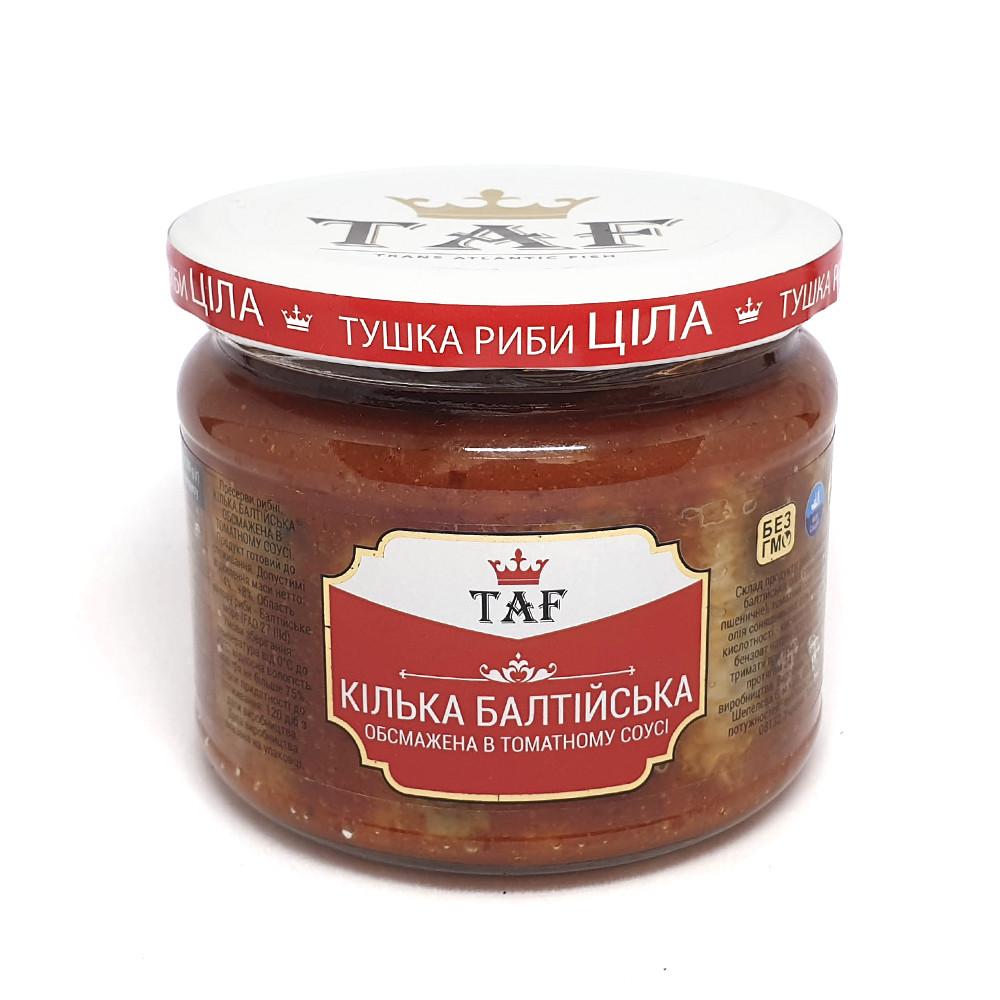 Килька балтийская обжаренная в томатном соусе 280 г