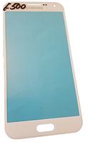Стекло для переклейки дисплея Samsung E500 Galaxy E5 White