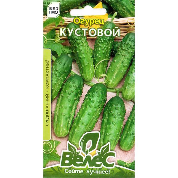 "Семена огурца ""Кустовой"" (0,5 г) от ТМ ""Велес"""