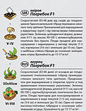 "Семена огурца ""Погребок"" F1 (0,3 г) от Agromaksi seeds, фото 2"