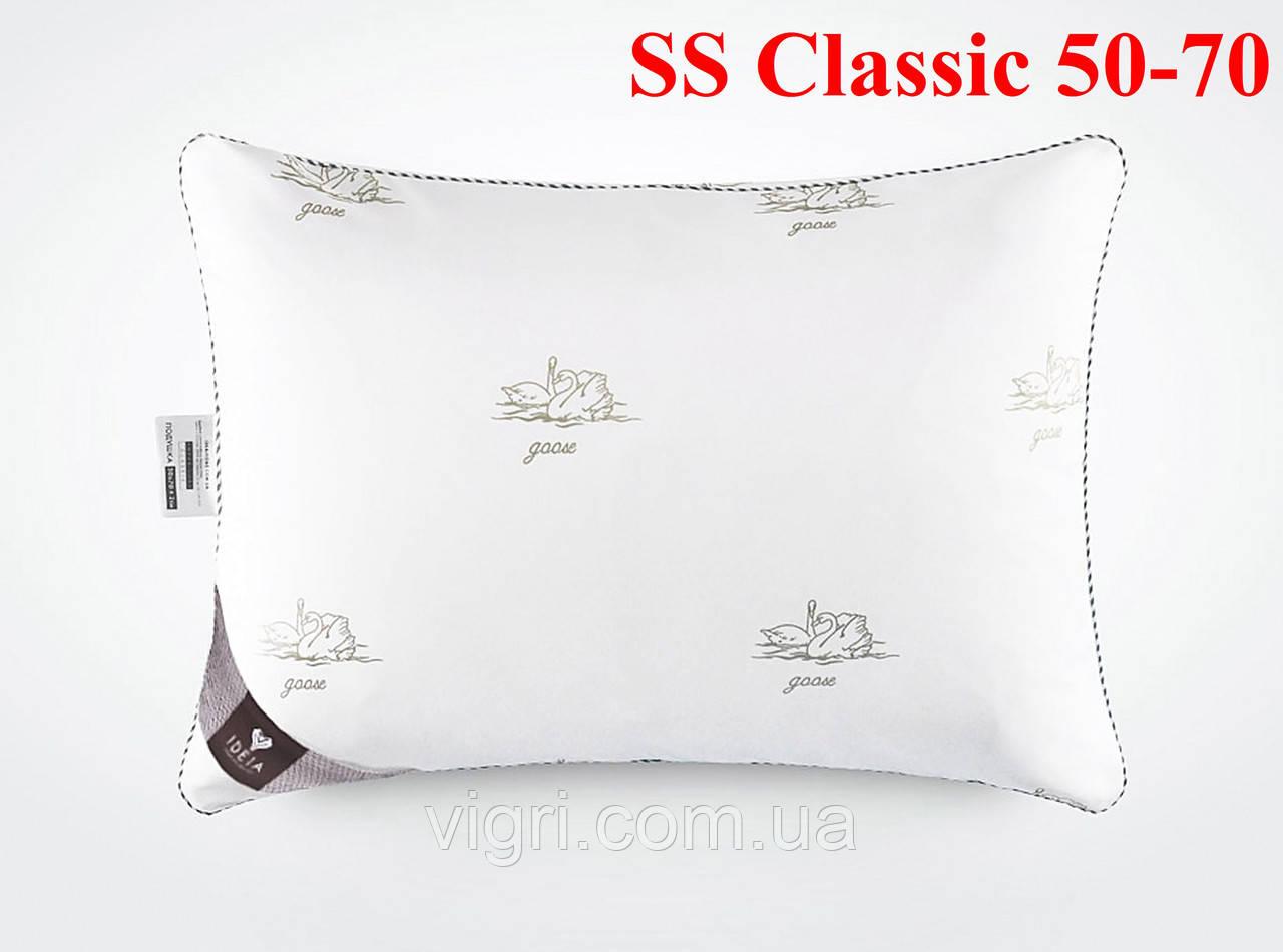 Подушка з лебяжим пухом тм. Ідея. «IDEIA» Super Soft Classic 50-70
