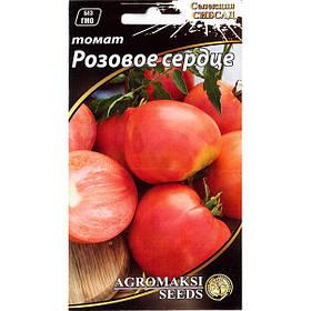 """Насіння томату """"Рожеве серце"""" (0,1 г) від Agromaksi seeds"""