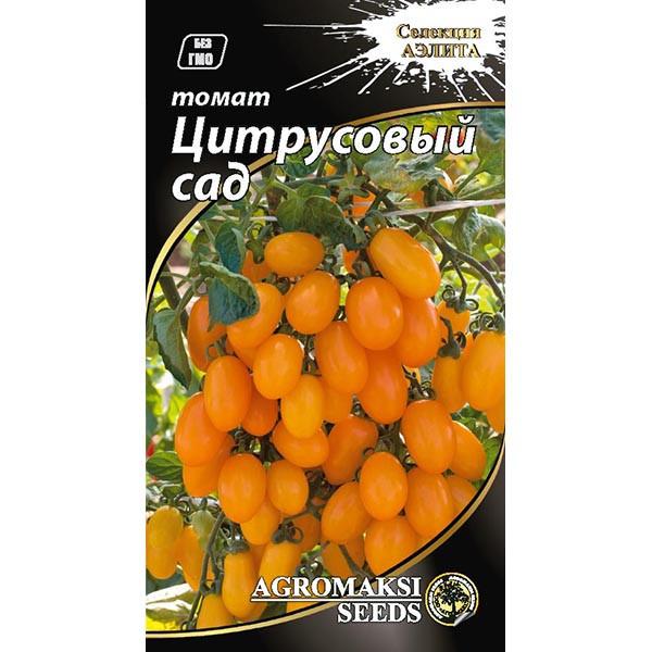 "Семена томата ""Цитрусовый сад"" (0,1 г) от Agromaksi seeds"