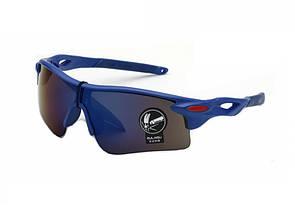 Очки спортивные Robesbon велосипедные (велоочки) синий