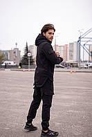 Куртка + штаны + БАФ в подарок / Комплект осенний весенний демисезонный мужской Black
