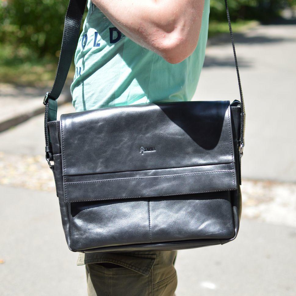 Чоловіча шкіряна сумка через плече TA-7742-4lx TARWA
