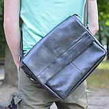 Чоловіча шкіряна сумка через плече TA-7742-4lx TARWA, фото 2