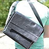 Чоловіча шкіряна сумка через плече TA-7742-4lx TARWA, фото 3