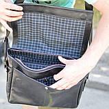 Чоловіча шкіряна сумка через плече TA-7742-4lx TARWA, фото 4