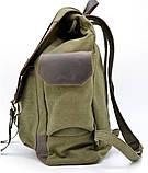 Рюкзак міський Урбан в комбінації тканина+шкіра TARWA RН-6680-4lx, фото 4