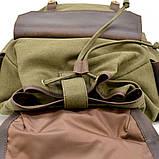 Рюкзак міський Урбан в комбінації тканина+шкіра TARWA RН-6680-4lx, фото 5