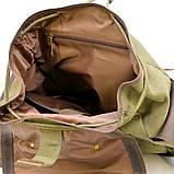 Рюкзак міський Урбан в комбінації тканина+шкіра TARWA RН-6680-4lx, фото 8