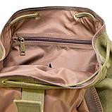 Рюкзак міський Урбан в комбінації тканина+шкіра TARWA RН-6680-4lx, фото 10