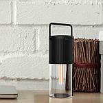 Портативная колонка c подсветкой NOUS H1 с Power Bank Black, фото 10