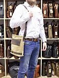 Мужская сумка парусина+кожа RH-0040-4lx Tarwa, фото 7