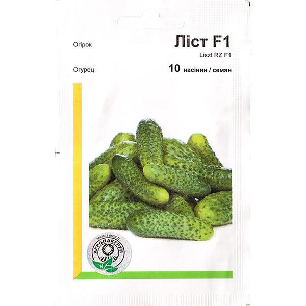 Насіння огірка«Лист» F1 (10 насінин) від Rijk Zwaan