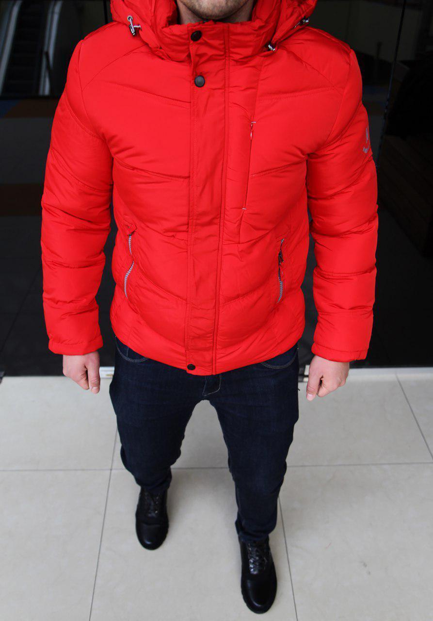 Куртка мужская Nord H0115 красная