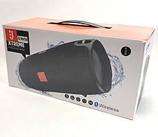 Портативная bluetooth колонка блютуз акустика для телефона с флешкой повербанк черная Xtreme Small, фото 3