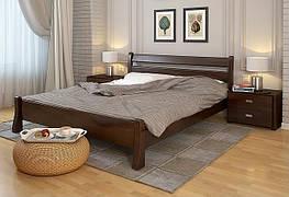 Двоспальне ліжко Арбор Древ Венеція 140х200 сосна (VS140) Білий (структура дерева не проглядається)
