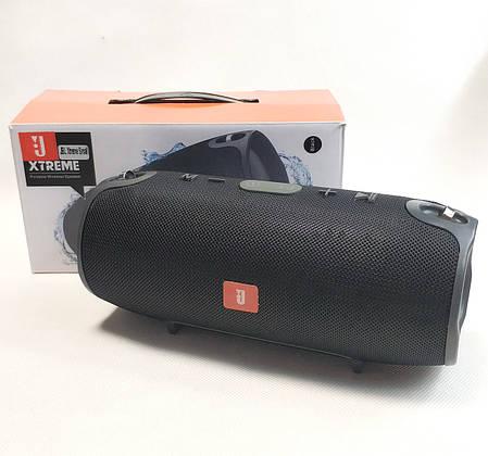 Портативная bluetooth колонка блютуз акустика для телефона с флешкой повербанк черная Xtreme Small, фото 2