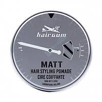 Hairgum Matt Hair Styling Pomade Помада для стайлинга с ароматом лакрицы, 100 г