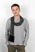 Мужские шарфы Мужской шарф Кастор индиго 160*30 (SHM-02)
