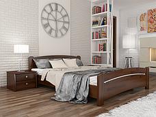 Двоспальне ліжко Естелла Венеція 180х200 буковий масив (DV-06), фото 3