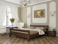 Двоспальне ліжко Естелла Діана 160х200 буковий щит (DV-08), фото 2