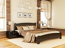 Двоспальне ліжко Естелла Венеція Люкс 180х200 буковий щит (DV-15), фото 2