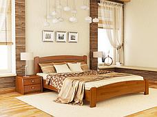Двоспальне ліжко Естелла Венеція Люкс 180х200 буковий щит (DV-15), фото 3