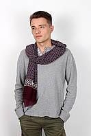 Мужские шарфы Мужской шарф Кастор фиолетовый 160*30 (SHM-02)