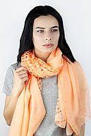 Шарф Аюна оранжевый 181*56 (М2813)