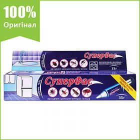 """Засіб від тарганів, мурашок """"СуперФас"""" (35 р) від Agromaxi, Україна"""