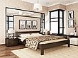 Односпальне ліжко Естелла Рената 80х190 буковий масив (OL-22), фото 2
