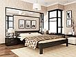 Односпальне ліжко Естелла Рената 80х190 буковий масив (OL-22), фото 4