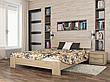 Односпальне ліжко Естелла Титан 120х200 буковий масив (OL-26), фото 4