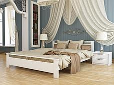 Двоспальне ліжко Естелла Афіна 160х200 буковий масив (DV-29), фото 2