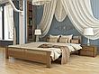 Двоспальне ліжко Естелла Афіна 160х200 буковий масив (DV-29), фото 3