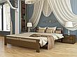 Двоспальне ліжко Естелла Афіна 160х200 буковий масив (DV-29), фото 4