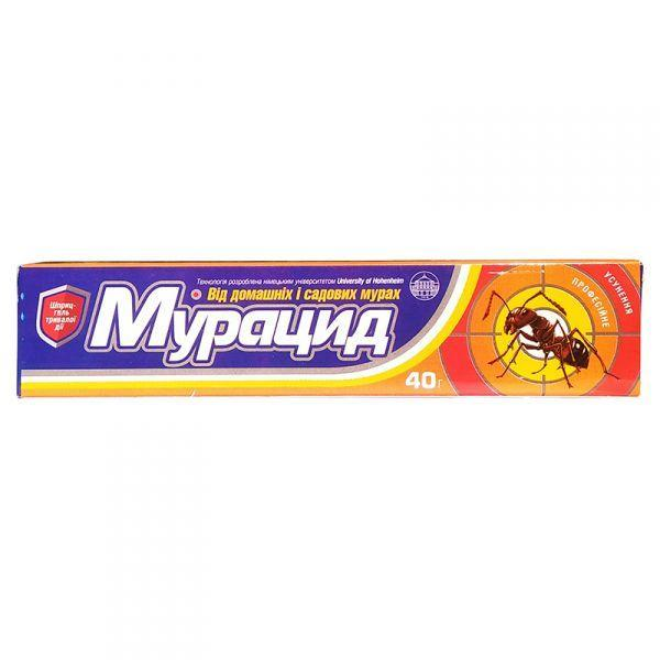"Средство от муравьев ""Марацид"" в форме геля (40 г), Украина"