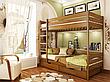 Двоярусне ліжко Естелла Дует 90х200 буковий щит (DE-02), фото 4