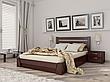 Двоспальне ліжко Естелла Селена з підйомним механізмом 120х200 буковий щит (LP-01), фото 3