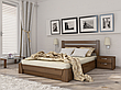 Двоспальне ліжко Естелла Селена з підйомним механізмом 120х200 буковий щит (LP-01), фото 4
