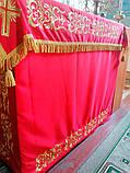 Чехол 1*1м из ткани с вышивкой, фото 2