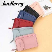 Женский клатч Baellerry forever через плечо, сумка кошелёк, сумочка для телефона (12 цветов)