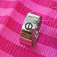 Серебряное брендовое кольцо - Стильное серебряное кольцо унисекс, фото 7