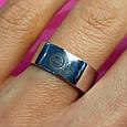 Серебряное брендовое кольцо - Стильное серебряное кольцо унисекс, фото 6