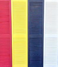 Ширма ДекоДім жалюзійна на 5 секцій 200х200 см (DK1-15), фото 3